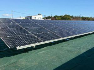邑楽郡千代田町太陽光発電所3の全景写真