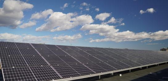 稼働中の太陽光発電所
